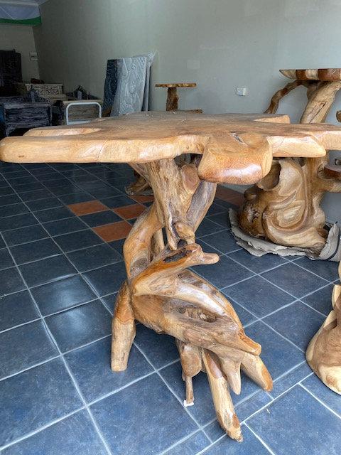 Teak Root Bar Table