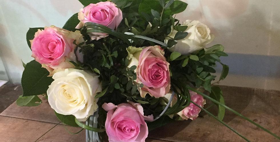 Bouquet 7 Roses Equateur