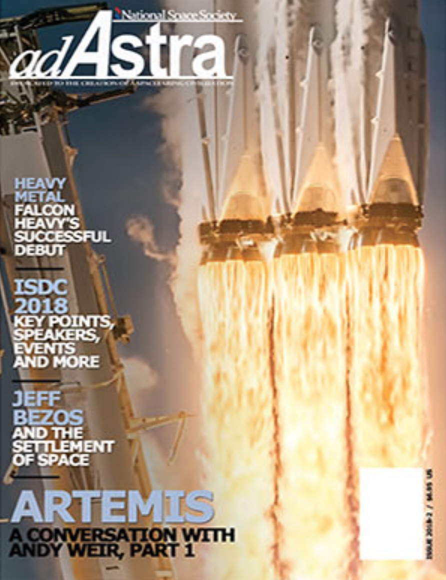 ad astra cover spring 2018