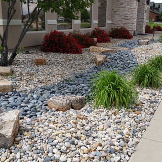 Contemporary Dry Creek bed