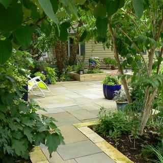 Secret garden after