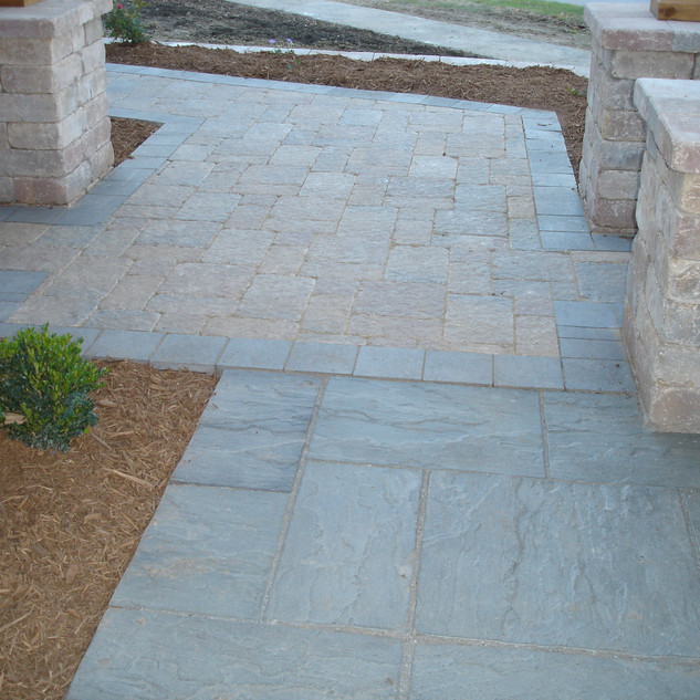 Paver transitions