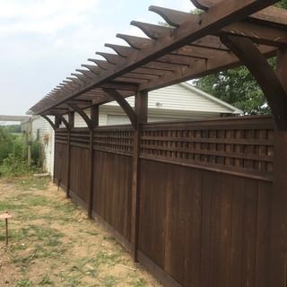 Arbor / Fence combination