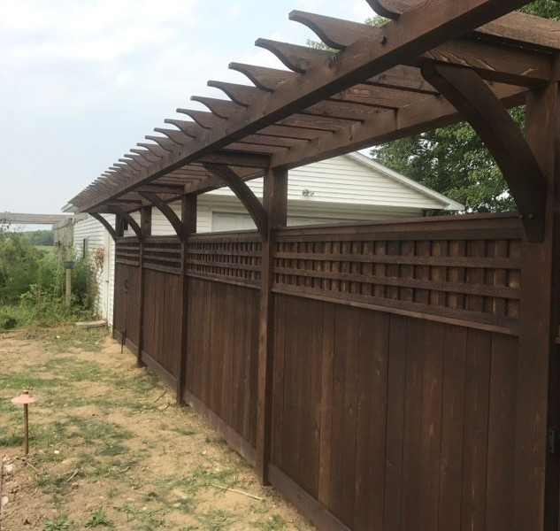 Arbor / Fence combination
