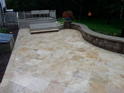 Country classic patio