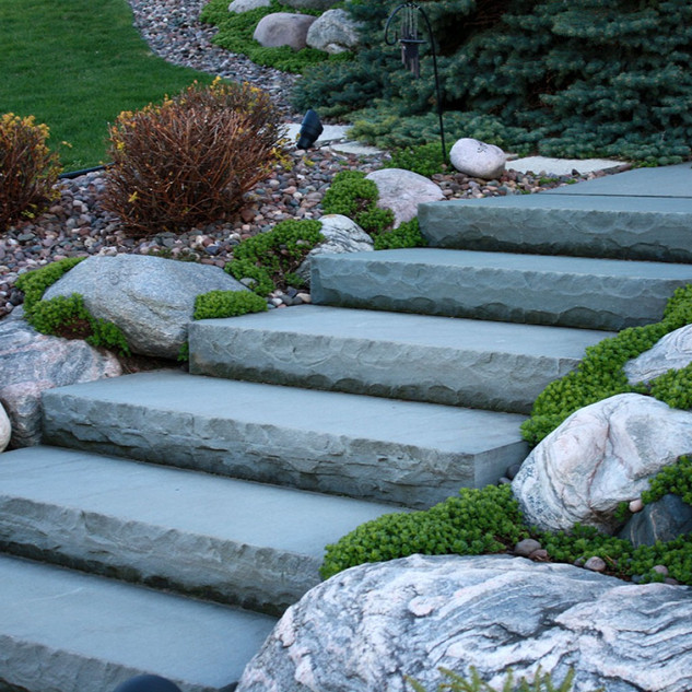 Bluestone steps