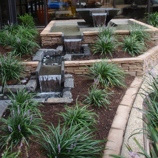 CopperTree designed hotel water feature