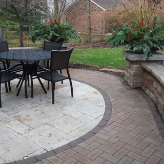 Dining patio