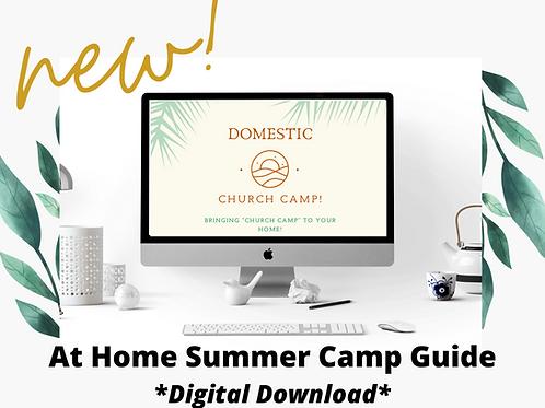At Home Summer Camp- Digital Leader's Guide