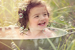 art of heart photography - bath time