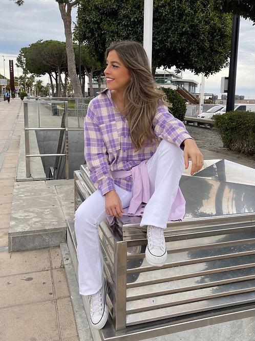 Camisa Virginia Malva