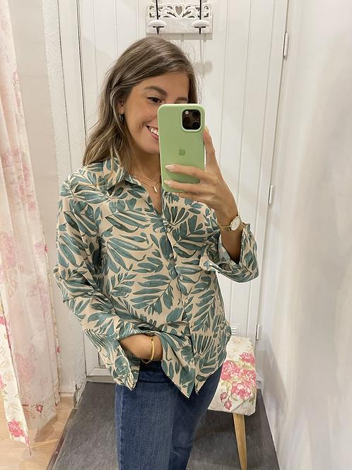 Camisa Camila verde