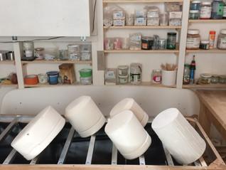 Un banc de coulage fait-maison à l'atelier !