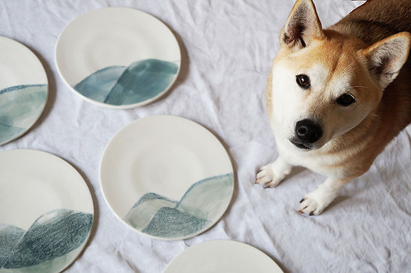 caroline prevost ceramiques assiettes ho