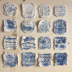 caroline prevost ceramique fil exposition atelier fresnes sur escaut lille roubaix ateliers jouret porcelaine