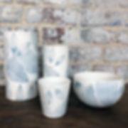 caroline prevost ceramique lines vases e