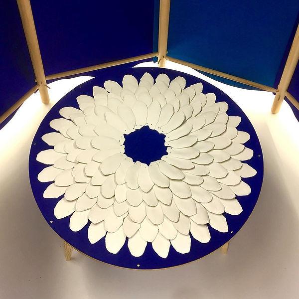 caroline prevost ceramique qubogas residence d'artistes lille maubeuge roubaix ateliers jouret tuiles fabrication moules en plâtre de coulage