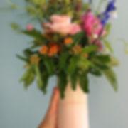 caroline prevost ceramique vase gradient