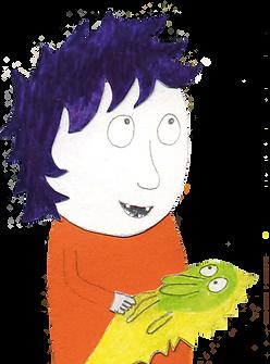 """Hej och välkomna till Konsladden – förlaget för barnsamtal. Varför heter vi """"Konsladden""""? Jo, det är ju kontakten eller sladden som vuxna alltid tjatar om: """"Akta kon .. sla .. dden"""". Hur som helst: Vi skapar böcker för vuxna för barn som har det knorvigt i livet. Illustration Lisa Rydberg. Konsladden.se"""