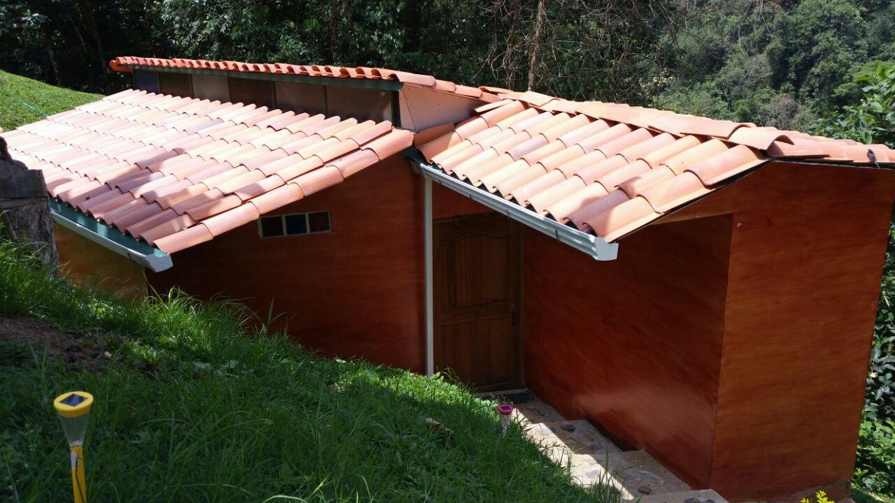 Cabaña Los Santos Exterior