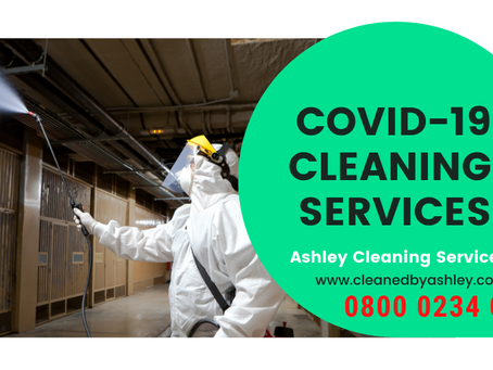 COVID-19 Coronavirus Cleaning & Decontamination Services