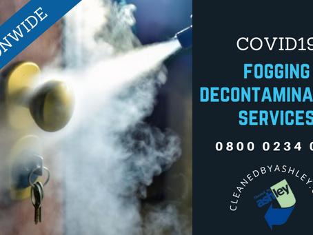 COVID19 Fogging Decontamination Services London