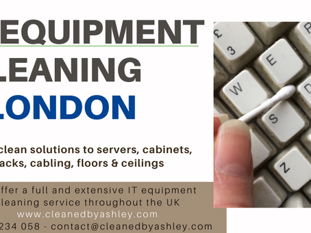 IT EQUIPMENT CLEANING LONDON