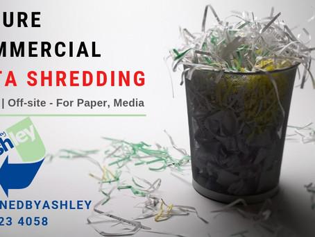 Commercial Data Shredding Services | London UK
