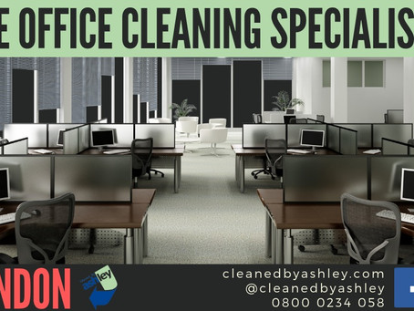 The Office Cleaning Specialists In LONDON & NATIONWIDE