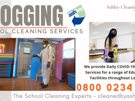 Clean and Disinfect your School with our Covid-19 Daily Cleaning Services