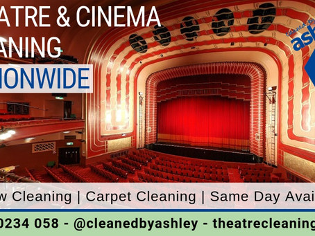 Theatre Cleaning SERVICES In London