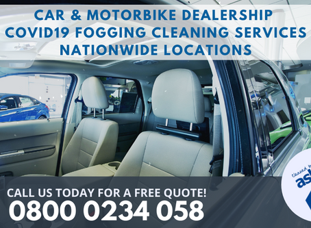Car Dealership Decontamination Fogging Services London | UK