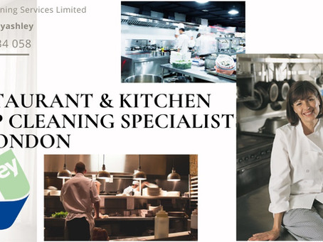 RESTAURANT AND KITCHEN DEEP CLEANING SPECIALISTS IN LONDON