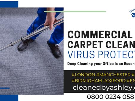 Coronavirus Carpet Cleaning Services London