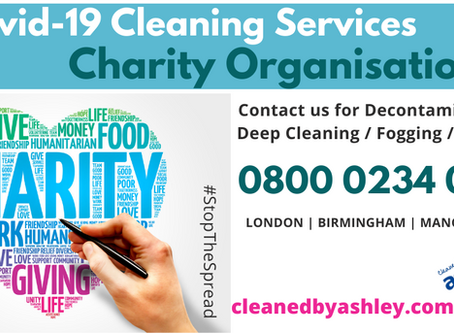 Charity Covid Cleaning Services & Solutions