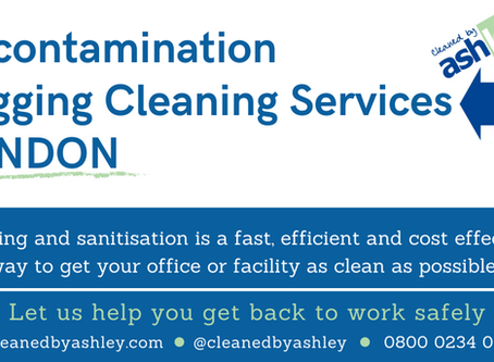 Covid 19 Cleaning and Disinfection for Public settings