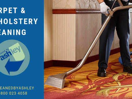 CARPET CLEANING - SAME DAY AVAILABILITY!