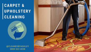 As one of London's most experienced carpet cleaners, Ashley Cleaning Services is your number one source when it comes to carpet and upholstery care.