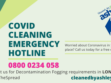 LONDON Covid-19 Specialist Deep Cleaning Services