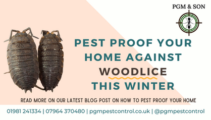 PEST PROOF YOUR HOME AGAINST WOODLICE TH