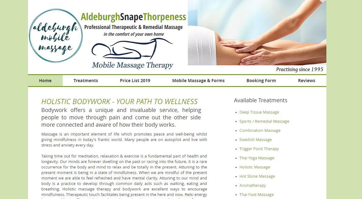 Aldeburgh Mobile Massage
