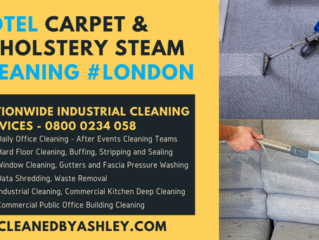 HOTEL CARPET STEAM CLEANING LONDON