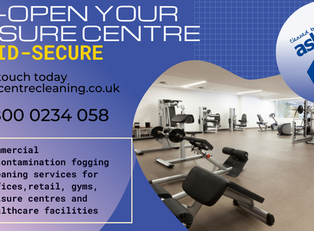 Reopen your Gym Leisure Centre Swimming Pool Covid-Secure
