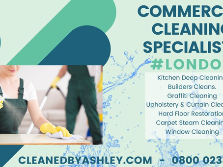 ONE OFF CLEANS DEEP CLEANING LONDON