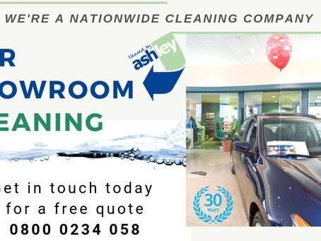 Car Showroom Cleaning Services For UK Car Dealerships