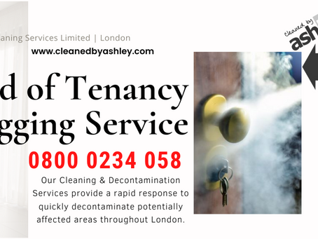 End of Tenancy Covid19 Fogging Cleaning Services