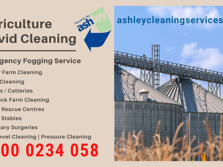 Agricultural COVID Cleaning Services -Nationwide