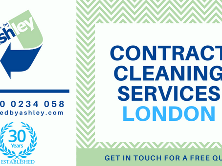 CONTRACT CLEANING SERVICES LONDON