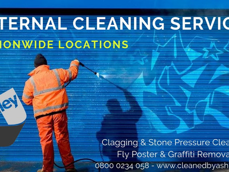 EXTERNAL JET WASHING SERVICES - NATIONWIDE