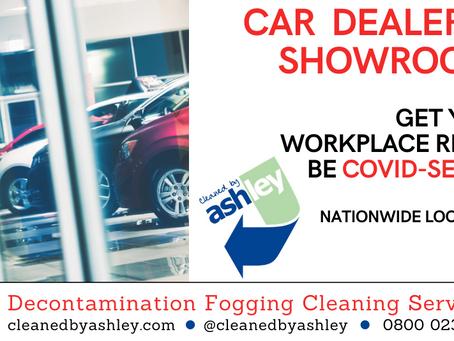 Car Showroom Covid 19 Coronavirus Cleaning Services